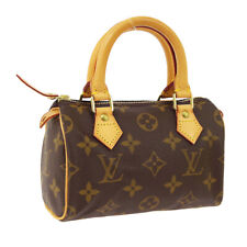 LOUIS VUITTON MINI SPEEDY 2WAY HAND BAG TH1929 PURSE MONOGRAM M41534 A50180