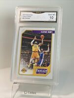 Gem Mint 10: 2019 Lebron James Panini Chronicles Threads Card #86, Lakers