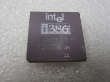 Intel A80386DX-33, SX211, ΣΣ Double sigma i386, rare vintage CPU, GOLD