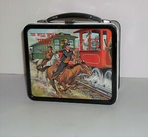 "Near Mint ""HIGH GRADE"" Wild Wild West Lunchbox & Tag  Aladdin 1969"