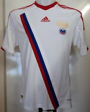 RUSSIA FOOTBALL 2012/13 AWAY SHIRT BY ADIDAS SIZE SMALL BRAND NEW WITH TAGS