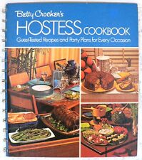Vintage Betty Crocker's Hostess Cookbook - EXCELLENT - 1973 HC Spiral Binding