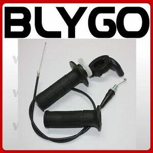 Twist Throttle Housing Hand Grip  905mm Cable 110cc 125cc PIT PRO Quad Dirt Bike