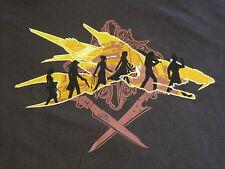 TeeFury Limited Edition Two Swords Tee-Shirt T Shirt XL Brown FFVIII LOTR Cotton
