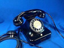 Telefono da tavolo in bachelite SIEMENS OLAP-MILANO anni 40