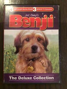 Benji: The Deluxe Collection (DVD, 2012, 2-Disc Set)