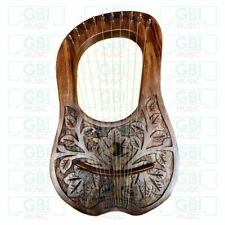 New 10 strings Rosewood Lyre Harp with free key and bag + string set