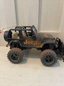 New Bright Jeep Wrangler Rubicon Mud Slinger RC 1:15 W/ Battery No Remote