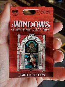 Disney parksThe Windows of Main street Usa Pin  Mickey mouse