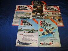 5 Scale Aircraft Modelling Magazines Vol 22 #5 #10 Vol 23 #7 Vol 28 #3 #6 Fine+