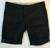 Mens Dickies Size 34 Black Shorts Chinos