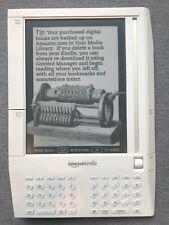 Amazon Kindle Original, 1st Generation eBook Reader White D00111