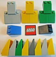 white roof brick 2x3 45 ° nine new Lego x 4//3038-4258358 roof brick
