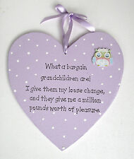 Grandchildren Plaque - Handmade - Personalised Plaque - Grandchild