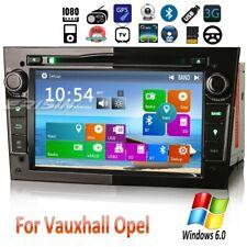 DAB+ Car Stereo Vauxhall Signum Corsa Astra Vectra Zafira Vivaro GPS SWC BT 7260