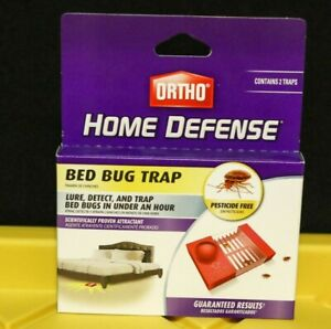 SCOTTS ORTHO Home Defense 2PK Bed Bug Detector Trap 0465510