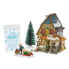 Dept 56 Dickens Christmas Carol Poulterer's Lit House Boxed Set 4056648 2017 D56