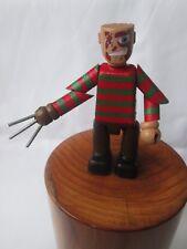 Freddy Krueger 3 in (approx. 7.62 cm) Minifigura-Pesadilla en Elm Street OOAK Articulado Figura