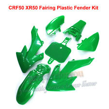 VERDE carenatura in plastica Fender Corpo Kit per HONDA xr50 CRF50 DIRT PIT BIKE TRAIL