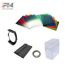 58mm Ring Adapter + 10pcs Square Color Filter + Filter Box for Cokin P series