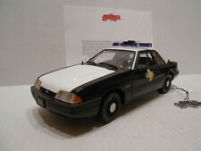 GMP ACME ERROR SAMPLE PRE PRODUCTION 1:18 1992 FORD MUSTANG POLICE SPECIAL 9062