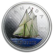 2016 Canada 5 oz Silver $1 Big Coin Series (10 Cent Coin) - SKU #96643