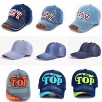 TOP BOY Baby Baseball Caps kids Snapback Hip Hop Cap Boys Girls Summer Sun Hats