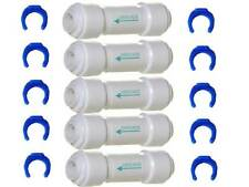 5 x 1/4 inch Inline Check Valve Fitting for Water Filter RO Reverse Osmosis 1/4""