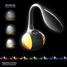 LED Tischlampe Schreibtischleuchte Büro dimmbar Lese-Lampe Nachttischleuchte NEU
