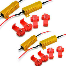 4 X Kfz Auto Lastwiderstand 50W 6 Ohm Fix LED Birne Hyper Blitz Blinker