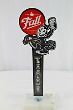 Fall Brewing Company 2 AM Bike Rider Coffee Stout Wooden Beer Tap Handle