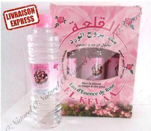 Eau Essence de Rose Vallée des Roses 250ml 100% Naturel Rose Water Agua de Rosas