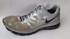 NIKE AIR MAX + 2012 Silver Metallic Running Shoes 487982 020 Mens 13 M Sneakers