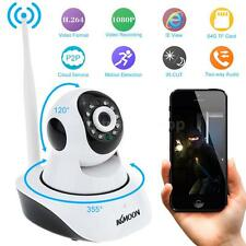 Wireless HD 1080P 2MP Camera P2P Pan Tilt IR Cut WiFi Network IP Webcam TF W-US