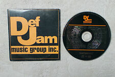 VARIOUS DEF JAM MIXÉ PAR DJ CLYDE CD MAXI-SINGLE PROMO 1996 DEF JAM RECORDS 4488