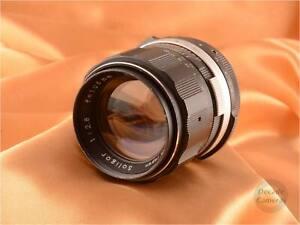 M42 Soligor 105mm f2.8 8 Blade Lens - 040
