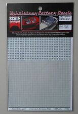 PLAID UPHOLSTERY 1:24 1:25 SCALE MOTORSPORT MODEL ACCESSORY 1962