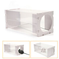 Live Catch Mouse Humane Safe Self Catching Rat Trap Catch Mice Catcher Reusable