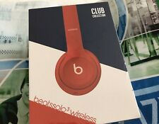 Beats by Dr. Dre Solo3 Club Collection Kabellose On-Ear Kopfhörer - Clubrot