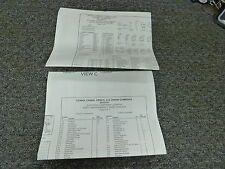 New Holland CR9040 CR9060 Combine Electrical Wiring Diagram Manual 2009