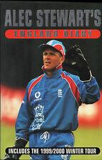Alec Stewart's England Diary - Cricket Paperback Book - Sport Autobiography (CB)