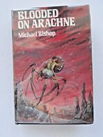 Blooded on Arachne Arkham House HC/DJ First Edition Bishop
