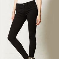 Anthropologie Pilcro Size 31 Legging Pants Serif Ponte Knit Skinny Stretch Black