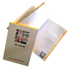 WORLD TRAVEL JOURNAL Notepad Book.  1 x REPLACEMENT INNER PAD only (no cover)