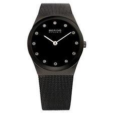 Runde Damen-Armbanduhren mit mattem Finish für Erwachsene
