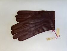 Genuine Dents leather gloves - with lambswool lining-English Tan