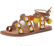 a569de23034e7 Les Tropeziennes Womens Gapita Ankle Strap Toe Ring Sandal UK Sz 6   EU39  RRP£