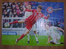 Poster Thomas Müller/Sebastien Haller  aus der Bravo Sport  Gr. ca 40 cm x 28 cm