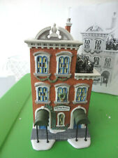 Dept 56 Cic Ivy Terrace Apartments Hand Painted Porcelain 58874 Nib Retired