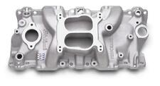 Edelbrock Performer Intake Manifold 2104 Chevy SBC Fits 87-95 350 TBI Heads